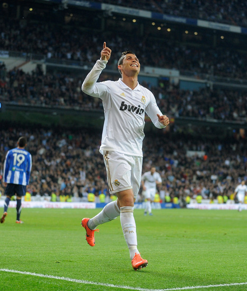 Of Real Madrid CF Celebrates After Scoring His Team S Second Goal