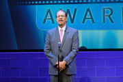 Penn Jillette speaks on stage during Critics' Choice Documentary Awards at BRIC Arts Center on November 3, 2016 in the Brooklyn borough of New York City.