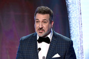 Joey Fatone speaks onstage during the Critics' Choice Real TV Awards at The Beverly Hilton Hotel on June 02, 2019 in Beverly Hills, California.