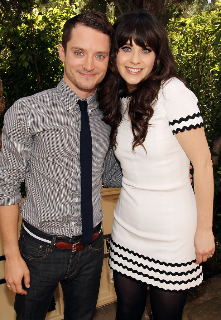 Zooey Deschanel Elijah Wood Photos - Critics' Choice ...