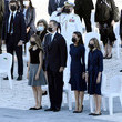 Crown Princess Leonor Official Event Tribute For Covid Victims In Spain