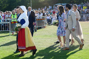 Prince Daniel of Sweden, Princess Estelle of Sweden, Crown Princess Victoria of Sweden, Prince Carl Philip of Sweden, Princess Sofia of Sweden,  Princess Madeleine of Sweden and her husband Chris O'Neill are seen on the occasion of The Crown Princess Victoria of Sweden's 42nd birthday celebrations on July 14, 2019 in Oland, Sweden.