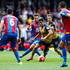 Alexis Sanchez Yohan Cabaye Photos - Alexis Sanchez of Arsenal is closed down by Yohan Cabaye of Crystal Palace during the Barclays Premier League match between Crystal Palace and Arsenal at Selhurst Park on August 16, 2015 in London, England. - Crystal Palace v Arsenal - Premier League