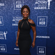 Crystal R. Fox SeeHer Red Carpet Platform At The 	26th Annual Screen Actors Guild Awards