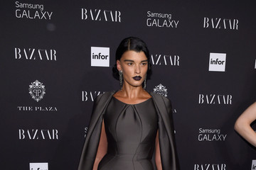 Crystal Renn Moet & Chandon Toasts to Harper's Bazaar Icons - Arrivals