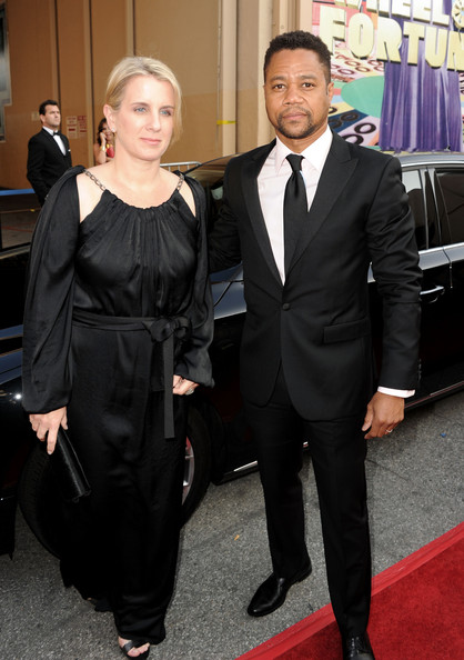 Cuba Gooding Jr. and Sara Kapfer - 39th AFI Life Achievement Award Honoring Morgan Freeman - Red Carpet