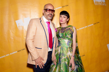 Cucu Diamantes Andres Levin Arrivals at the El Museo's Gala