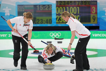 Kelly Wood Lorna Vevers Curling - Day 7