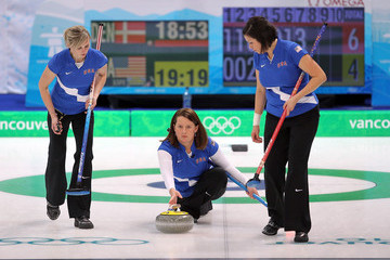 Nicole Joraanstad Curling - Day 7
