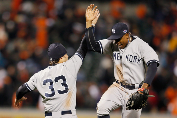 Division Series - New York Yankees v Baltimore Orioles - Game One