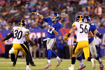 Curtis Painter Pittsburgh Steelers v New York Giants