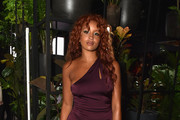 Lion Babe attends the Cushnie Et Ochs fashion show during New York Fashion Week: The Shows at Gallery 1, Skylight Clarkson Sq on September 8, 2017 in New York City.