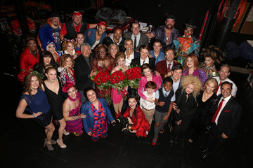 """Cyndi Lauper Harvey Fierstein Cyndi Lauper, Harvey Fierstein & Jerry Mitchell Celebrate L.A. Premiere Of """"KINKY BOOTS"""" At Hollywood Pantages"""