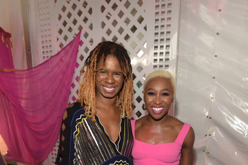 Cynthia Erivo Russell Simmons' Rush Philanthropic Arts Foundation Hosts Midnight at the Oasis Annual Art for Life Benefit - Inside