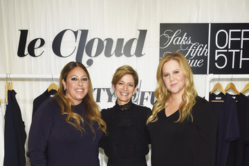 Cynthia Leive Amy Schumer & Leesa Evans Host Le Cloud Launch Event With Saks OFF 5TH