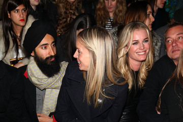 Meredith Melling-Burke Rebecca Romijn Cynthia Rowley - Front Row - Fall 2012 Mercedes-Benz Fashion Week