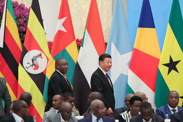 Cyril Ramaphosa 2018 Beijing Summit Of The Forum On China-Africa Cooperation - Round Table Conference