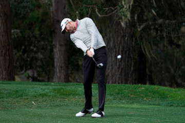 D.J. Trahan AT&T Pebble Beach Pro-Am - Round Two