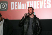 Pablo Schreiber at The Den of Thieves special screening at Regal South Beach on January 10, 2018 in Miami, Florida.