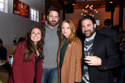 """(L-R) Danielle Robinson, Gerard Butler, Britt Poulton, and Bradley Gallo at the """"Them That Follow"""" party at DIRECTV Lodge presented by AT&T at Sundance Film Festival 2019 on January 27, 2019 in Park City, Utah."""
