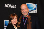 Caroline Manzo and Albert Manzo attend DIRECTV's Sixth Annual Celebrity Beach Bowl After Party at Victory Field on February 4, 2012 in Indianapolis, Indiana.
