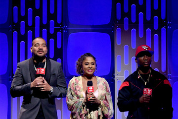 DJ Envy Charlamagne Tha God 2019 iHeartRadio Music Festival And Daytime Stage