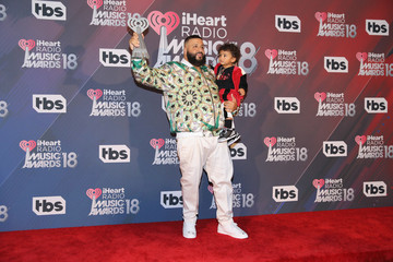 DJ Khaled Asahd Khaled 2018 iHeartRadio Music Awards  - Press Room