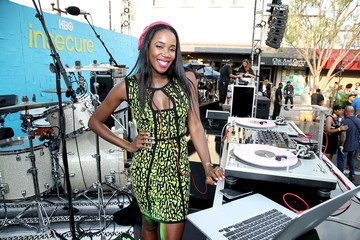 DJ Kiss HBO Celebrates New Season of 'Insecure' With Block Party in Inglewood