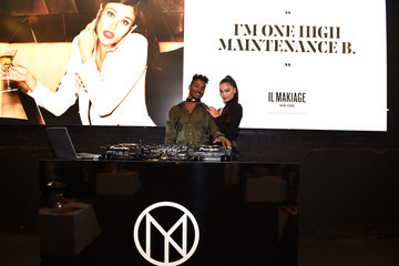 DJ Ruckus Shanina Shaik And Dj Ruckus Host IL MAKIAGE Launch Week Party