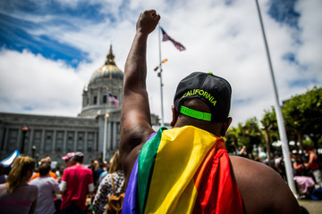 DWayne Edwards San Francisco Hosts the Annual Gay Pride Parade