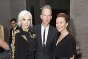 (EXCLUSIVE ACCESS, SPECIAL RATES APPLY) Model Maye Musk, EIC of Dazed Group Jefferson Hack, and a guest attend the The Daily Front Row's 4th Annual Fashion Media Awards at Park Hyatt New York on September 8, 2016 in New York City.