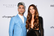 Tan France and Negin Mirsalehi.attend The Daily Front Row's 7th annual Fashion Media Awards on September 05, 2019 in New York City.