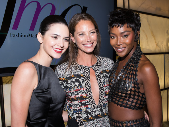 Photo of Naomi Campbell & her friend model  Christy Turlington -