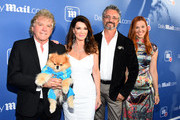Ken Todd, Lisa Vanderpump, Nick Alain and wife attend the DailyMail.com & DailyMailTV Summer Party at Tom Tom on July 11, 2018 in West Hollywood, California.