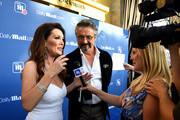Lisa Vanderpump and Nick Alain attend the DailyMail.com & DailyMailTV Summer Party at Tom Tom on July 11, 2018 in West Hollywood, California.