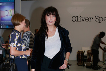 Daisy Lowe Front Row & Arrivals - Day 5 - LFW September 2016