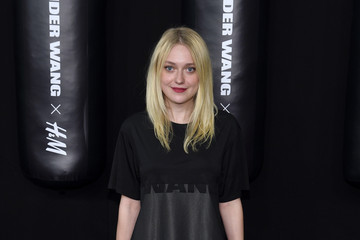Dakota Fanning Arrivals at the Alexander Wang X H&M Launch