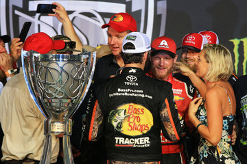 Dale Earnhardt Jr. Martin Truex Jr. Monster Energy NASCAR Cup Series Championship Ford EcoBoost 400