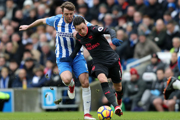 Dale Stephens Brighton And Hove Albion vs. Arsenal - Premier League