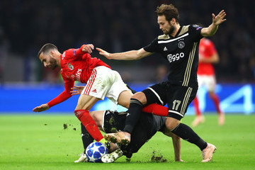 Daley Blind Ajax vs. SL Benfica - UEFA Champions League Group E