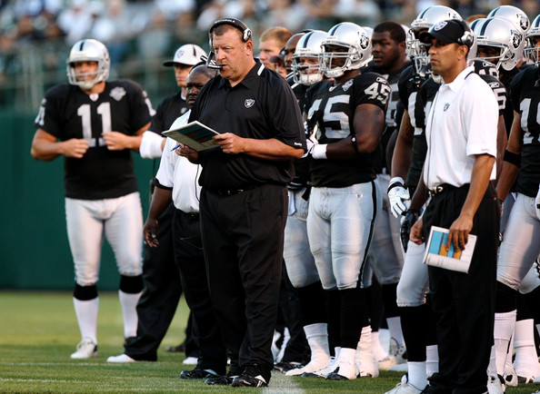 oakland raiders  head coach history