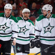Alex Goligoski Jamie Benn Photos