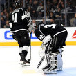 Jonathan Quick and Anze Kopitar