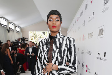 Damaris Lewis 27th Annual Elton John AIDS Foundation Academy Awards Viewing Party Sponsored By IMDb And Neuro Drinks Celebrating EJAF And The 91st Academy Awards - Red Carpet