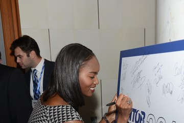 Damaris Lewis Annual Charity Day Hosted by Cantor Fitzgerald and BGC - Cantor Fitzgerald Office - Arrivals