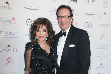 Dame Joan Collins The Global Gift Gala London - Red Carpet Arrivals