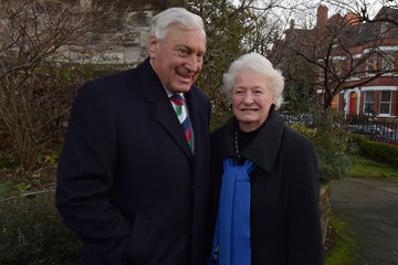 Dame Mary Peters Funeral Held for Jack Kyle