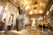 Damien Hirst Archaeology now exhibition at Villa Borghese, Rome. Sponsored by Prada.