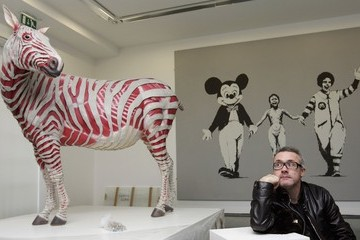 Damien Hirst In Focus: Hot Art - The Serpentine Galleries of London
