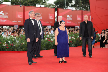 "Fred Roos ""Damsels In Distress"" Premiere and Closing Ceremony Arrivals - 68th Venice Film Festival"